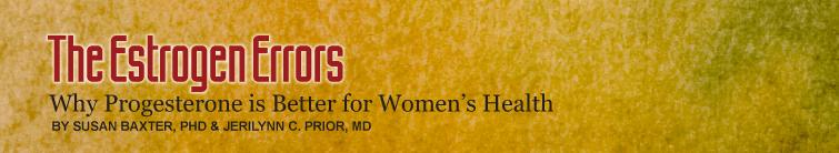 Estrogen Errors - The Book